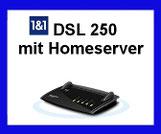 1 & 1 HomeServer - Schnelles Internet per VDSL 250 Internet Anschluss  für Zuhause