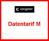Congstar Datentarif M für das Tablet