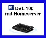 1 & 1 HomeServer - Schnelles Internet per VDSL 100 Internet Anschluss  für Zuhause