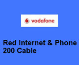 Vodafone Kabel TV Digital Fensehen mit Internet & Phone 200 Cable
