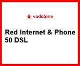Red Internet  & Phone 50 DSL für die Vodafone VDSL Verfügbarkeit