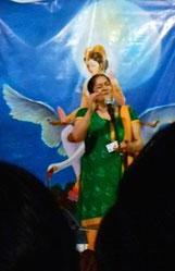 Concert le 1er mars 2014 dans le temple de Kirti Ji dans le Gujarat en Inde