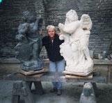 Zdenek Chmelar Kopie einer Statue