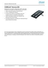 Titelbild Datenblatt: Auerswald COMfortel Xtension300