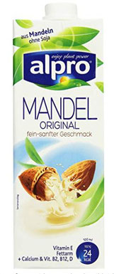 Im Einzelhandel Mandelmilch & Co.