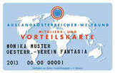 Mitglieds- und Vorteilskarte