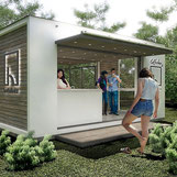 Arquitectura modular, Cafetería