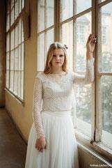 Spitzen-Brautkleider