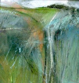 Worshipful Company of Painter-Stainers Prize - Jo Ellis's 'Rising Downland Grasses'