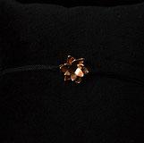 Bracelet Fleur de Lotus pour femme, fait à la main, en Argent 925 sur chaîne maille forçat