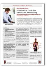 Patienteninfo Parodontitis-Behandlung Zahnarzt Frankfurt-Niederrad