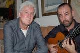 Con Félix Grande