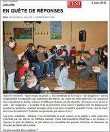 Spectacle à JAILLON (54) - LES GUIGNOLOS - saison 2011/2012
