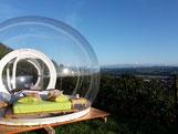 Himmelbett das Thurgauer Bubble Hotel! Mal was anders und das noch in der schönen Schweiz