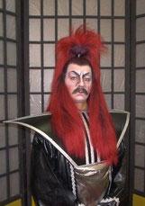 Frans Gubbels als De Mikado.