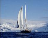 Vaihéré sous voile Antartique
