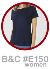 T-Shirt B&C #E150 women bedrucken