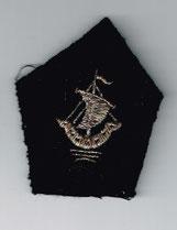 Kragenspiegel Uniform der Pariser Polizei bis 1968