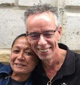 Diana Lopulalan y Jan Stravers, los propietarios