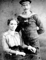 Die Gondelteich-Lover Oma+Opa mütterlicherseits: Das offizielle Verlobungs-Bild