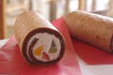 フルーレミニフルーツロールケーキ