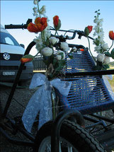 Der Hochzeitswagen
