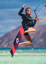 Kitesurfing in Fuerteventura