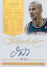 JASON KIDD / Retired NUmbers - No. RN-JK  (#d 10/10)
