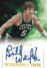 BILL WALTON / Winning Ink - No. 11  (#d 5/10)