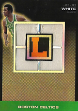 JO JO WHITE / Letterman Patch - No. QP-JJW  (#d 5/5)