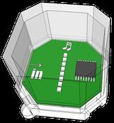 Cube-Dの8LEDブロック