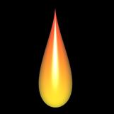 Modellierung der Flamme und Tropfen