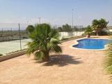 Openbare zwembad van Villa Casa del Lago, San Fulgencio, Costa Blanca