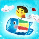 金ちゃん鯉のぼり