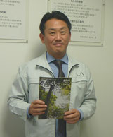 2007年度卒業 第26代理事長の波夛野賢先輩