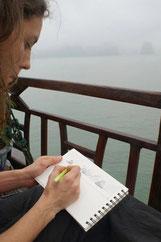 noémie creation balade dessinées dessin peinture art cours ateliers bordeaux victoire