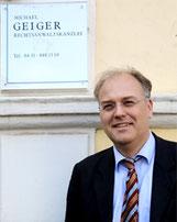 Rechtsanwalt Michael Geiger
