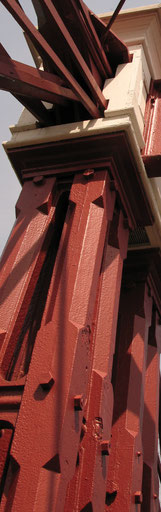 VCI Coatings Application to Steel Structure. No rust Removal is Necessary.