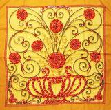 エルメス スカーフ カレ 花柄