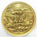 K24 純金 天皇陛下御在位60年記念 拾万円金貨