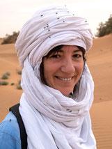 Nicole Mattille Begeisterte Marokko Reisende, Wüstenfan