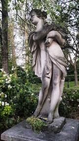 statue du parc Heller à Antony (92)