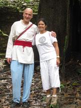 Te esperamos en este Viaje a Aztlán, que va cambiar tu vida, te lo garantizamos, con el corazón abiertos, Pascal K'in y Victorina