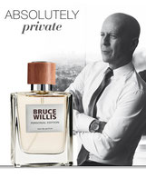 « Personal Edition », le parfum qui reflète la facette privée de Bruce Willis. Absolutely Private