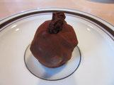 recette truffes chocolat noir et raisins au rhum