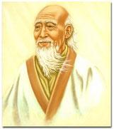 Lao Tze, according to the legend