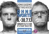 Ausstellung Ohne Worte im Artig Kunstreich, Thomas Guggemos, Matthias Herzog
