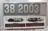 "Lokomotiv-Packung ""Baureihe 38"". (Metall-Technologie-Edition) / Märklin 00380"