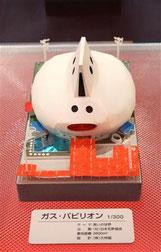 ガスパビリオンの模型