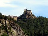 typische Höhenburg: Burg Aggstein